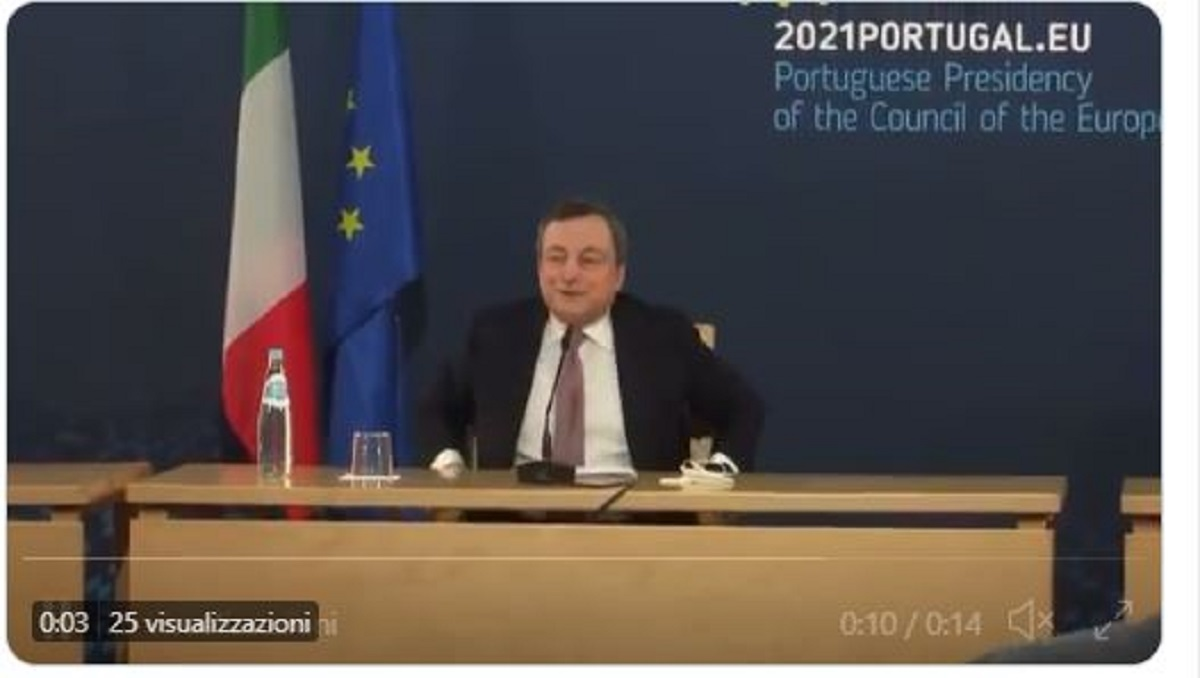 draghi pavone video