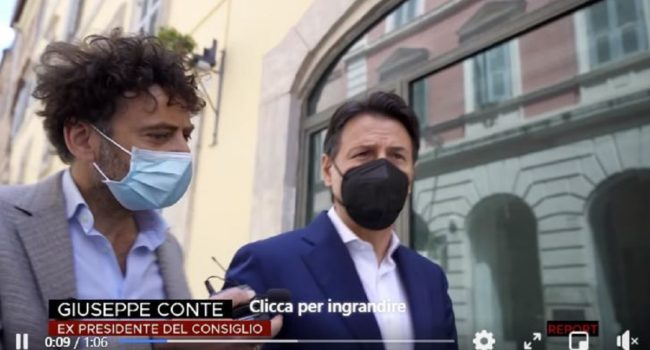 giuseppe conte report renzi salvini mancini 007